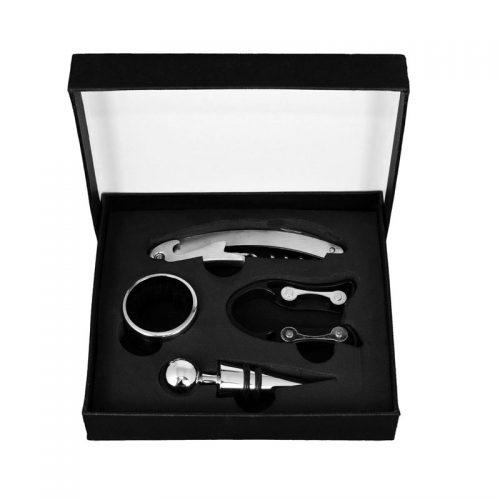 kit-para-vinho-4-pecas-caixa-preta